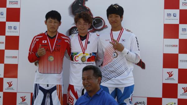 2013アジアBMX選手権 Jrクラスで ...
